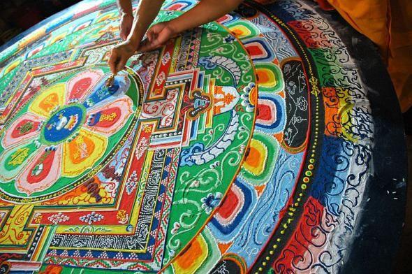 mandala drawing meditation