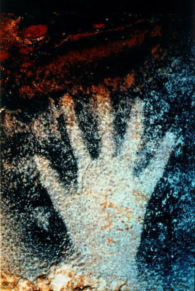 Ancient Women Handprints